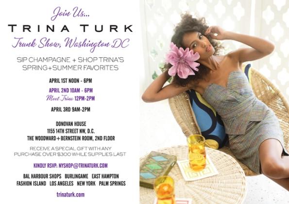 Trina Turk Trunk Show invite