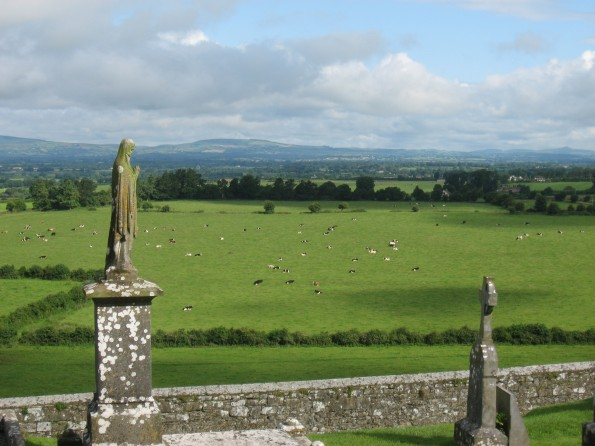 View from the Rock at Cashel