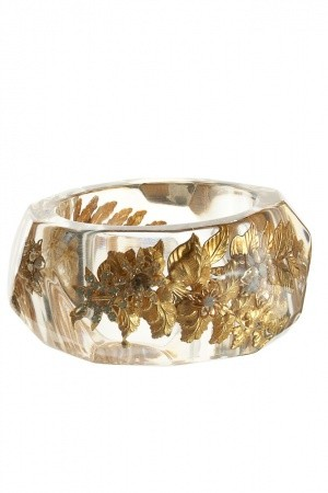 Crystal and gold from Calypso St Barth