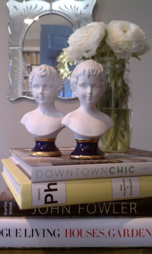 White busts from S&K