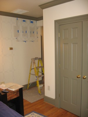 Faux work and trim color for master bedroom