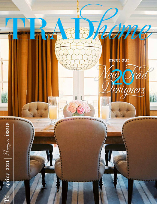 Tradhome premiere issue cover