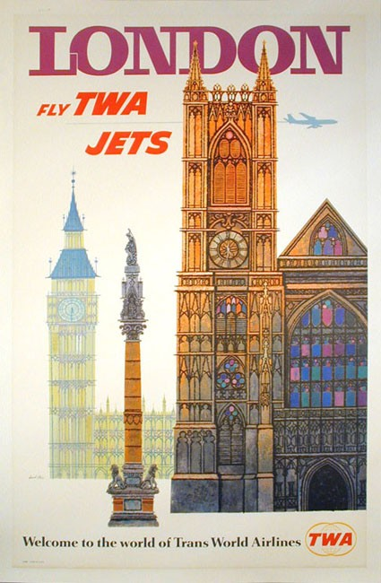 London travel poster
