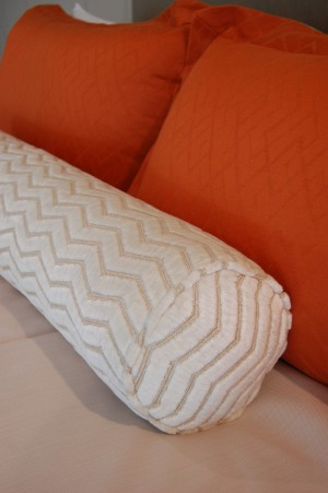 Detail of pillow