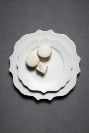 Silhouette plates BHLDN