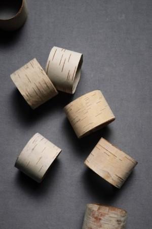 split birch napkin rings BHLDN