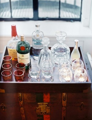 close up of bar in tray