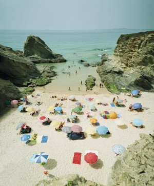 beach front with umbrellas via 20 x 200