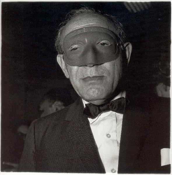 Masked Man at the Ball, NYC, 1967 Diane Arbus