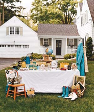 yard sale real simple