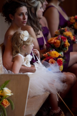 Bridesmaids and Lily