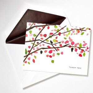 Kate Spade cherry blossom notes
