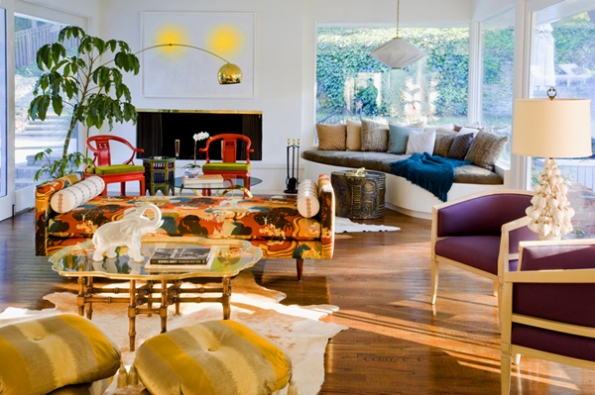 Julie Bowen's home In Style Magazine