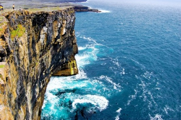 Cliffs Aran Islands Ireland David Abizaid