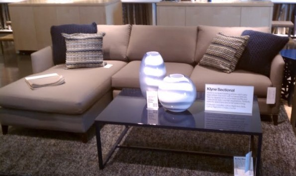 Crate and Barrel Klyne Sofa