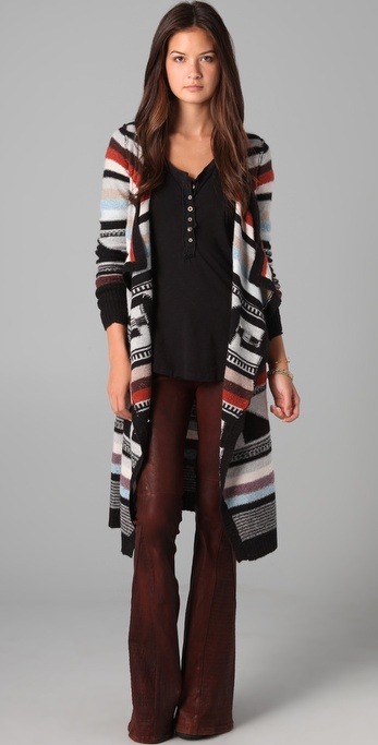 Navajo knitwear for fall 2011