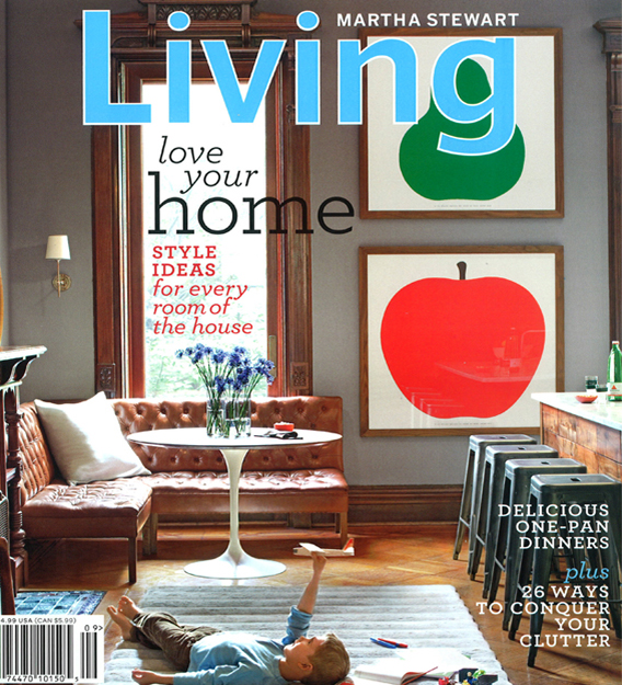 Martha Stewart Living September Issue cover