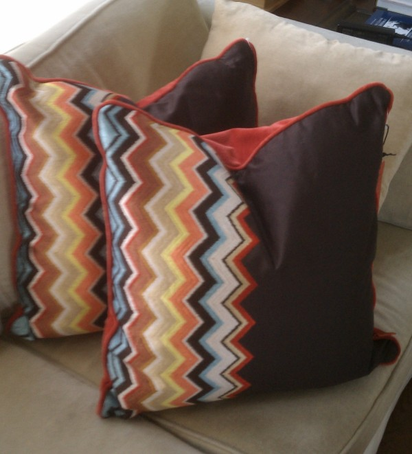 Missoni for Target pillows