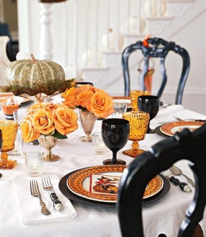 Country Living Halloween decorations