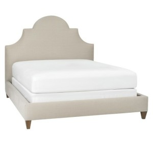 Ornate bed from DwellStudio