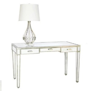 vivien mirrored desk