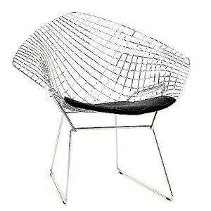 Bertoia diamond chair via DWR