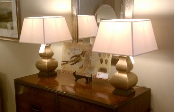 Little lamps from Random Harvest