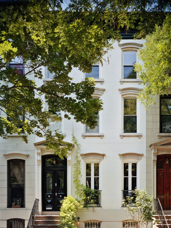 Exterior Jenna Lyons' home in Brooklyn