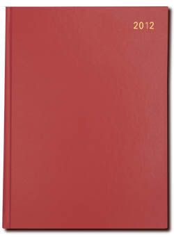 Principal Desk (10X)- Day to a Page - A5 Size (X Size) 2012 Calendar