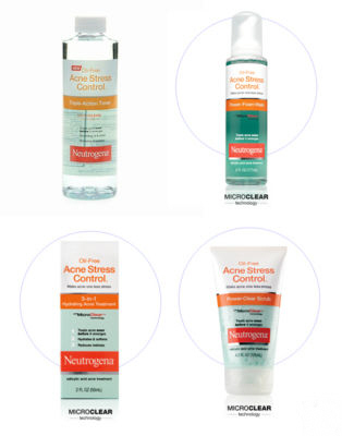 Neutrogena Stress Control products