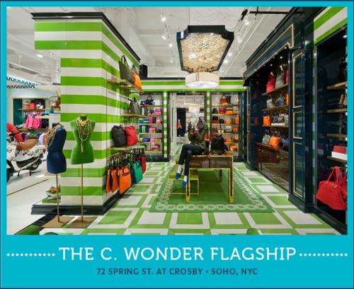 C.Wonder storefront in NYC